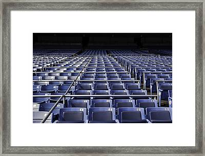 Old Yankee Stadium Seating Framed Print