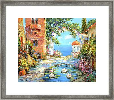 Old Yard  Framed Print
