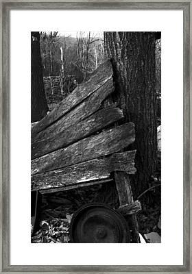 Olddoornextdoor21-23 Framed Print by Curtis J Neeley Jr