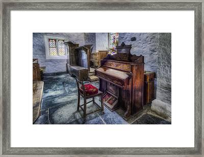 Olde Church Organ Framed Print by Ian Mitchell