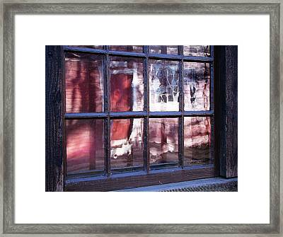 Olde Glass Framed Print