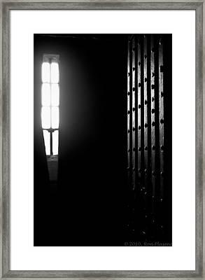 Olde Greeneville Jaile Framed Print