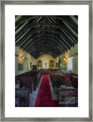 Olde Lamp Church Framed Print