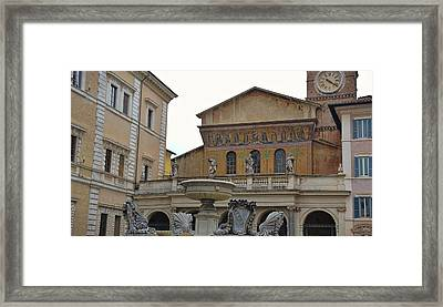Oldest Fountain Framed Print by JAMART Photography