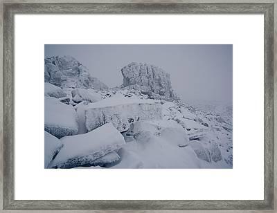 Oldest Mountains Framed Print by Anton Troshkov