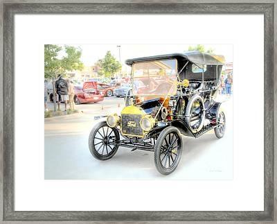 Framed Print featuring the photograph Oldie But Goodie by Dyle   Warren