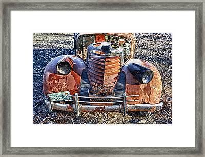 Olds Framed Print by Ed Boudreau