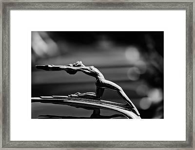 Oldsmobile 1933 Hood Ornament Framed Print