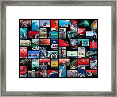 Oldsmobile Art -01 Framed Print by Jill Reger