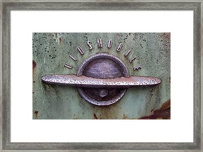 Oldsmobile Framed Print by Audrey Venute