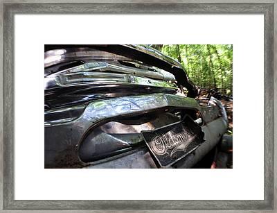 Oldsmobile Bumper Detail Framed Print