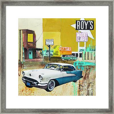 Oldsmobile Framed Print by Elena Nosyreva