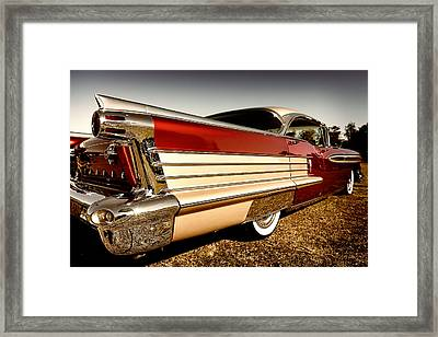 Oldsmobile The Skirt  Framed Print by Michael Howard