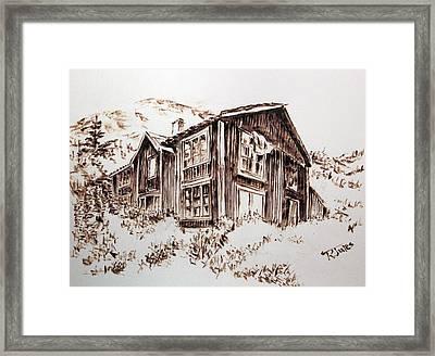 Oldstead Framed Print