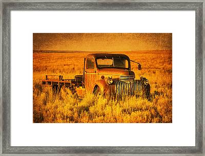 Oldtimer Framed Print by Mark Kiver