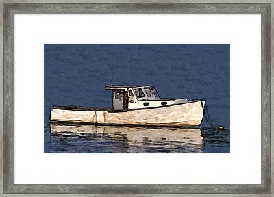 Ole Boy Painting Framed Print