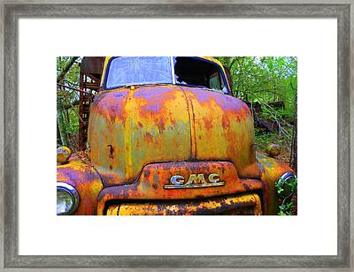 Ole Rusty Full Frontal Framed Print