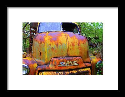 Rusty Truck Framed Prints