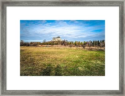 Olesko Castle In Ukraine Framed Print by Tetyana Kokhanets