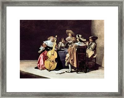 Olis: A Musical Party Framed Print