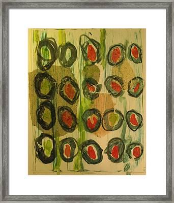 Olive Framed Print by Charlie Spear