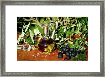 Olive Oil Framed Print
