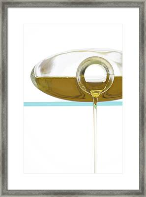 Olive Oil Framed Print by Frank Tschakert