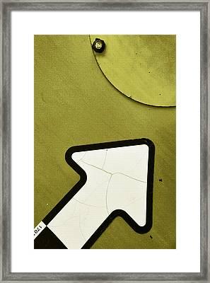 Olive...raw Steel Framed Print by Tom Druin