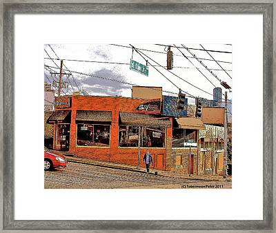 Olive Way Framed Print by Tobeimean Peter