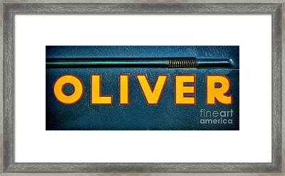 Oliver By Olivier  Framed Print by Olivier Le Queinec