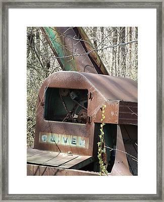 Oliver Corn Picker Antique Farm Machinery II Framed Print