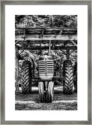 Oliver Tractor Framed Print