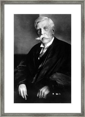 Oliver Wendell Holmes, Jr., 1929 Framed Print by Everett