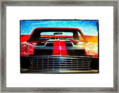 Olivers Camaro-  Framed Print