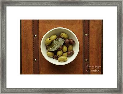 Olives 1 Framed Print by Edward Fielding