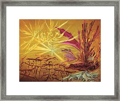 Olivier Messiaen Landscape Framed Print