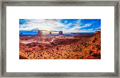 Oljato-monument Valley Framed Print