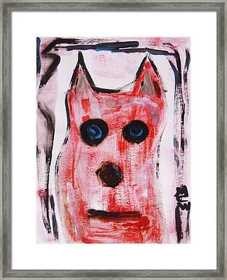 Ollie Framed Print