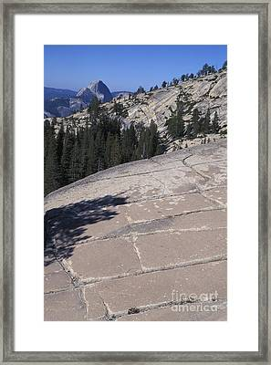 Olmstead Point Framed Print by Stan and Anne Foster