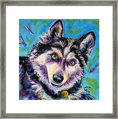 Oly-oly Oxenfree Framed Print by Judy  Rogan