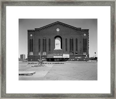 Olympia Arena, 5920 Grand River Avenue Framed Print by Everett