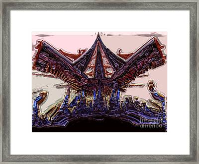 Olympic Fire Framed Print by Patrick Guidato