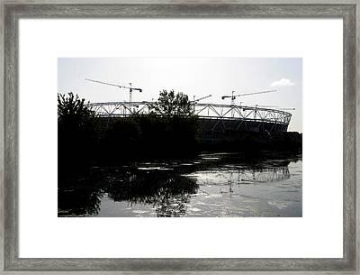 Olympic Folly Framed Print by Jez C Self