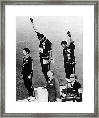 Olympic Games, 1968 - To License For Professional Use Visit Granger.com Framed Print