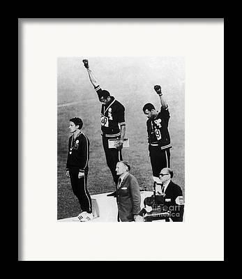 Olympic Framed Prints