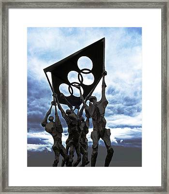 Olympic Framed Print