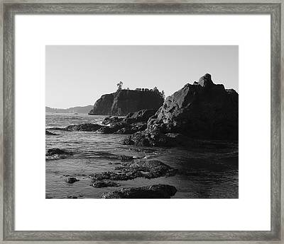 Olympic Peninsula Framed Print by Sonja Anderson