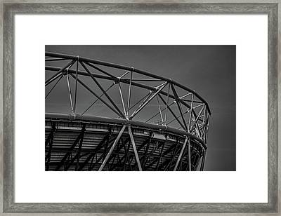 Olympic Stadium Framed Print by Martin Newman