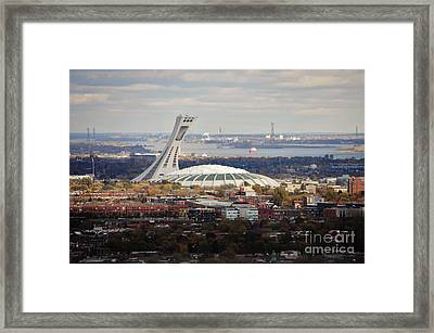 Olympic Stadium  Framed Print by Reb Frost