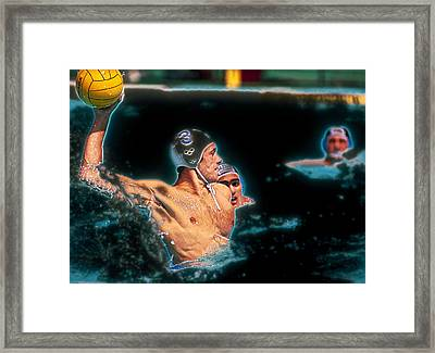 Olympic Water Polo Framed Print